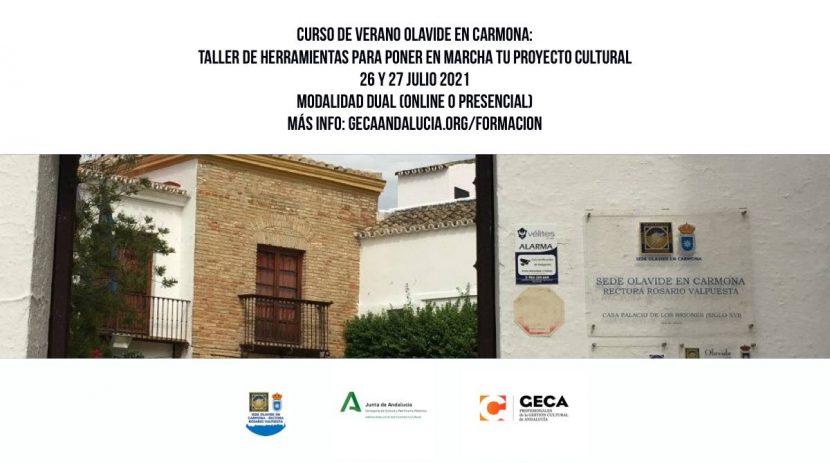 Curso De Verano De La Olavide En Carmona 2021 Geca